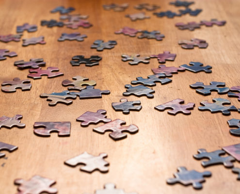 Puzzle Pieces by @sightrays on Flickr